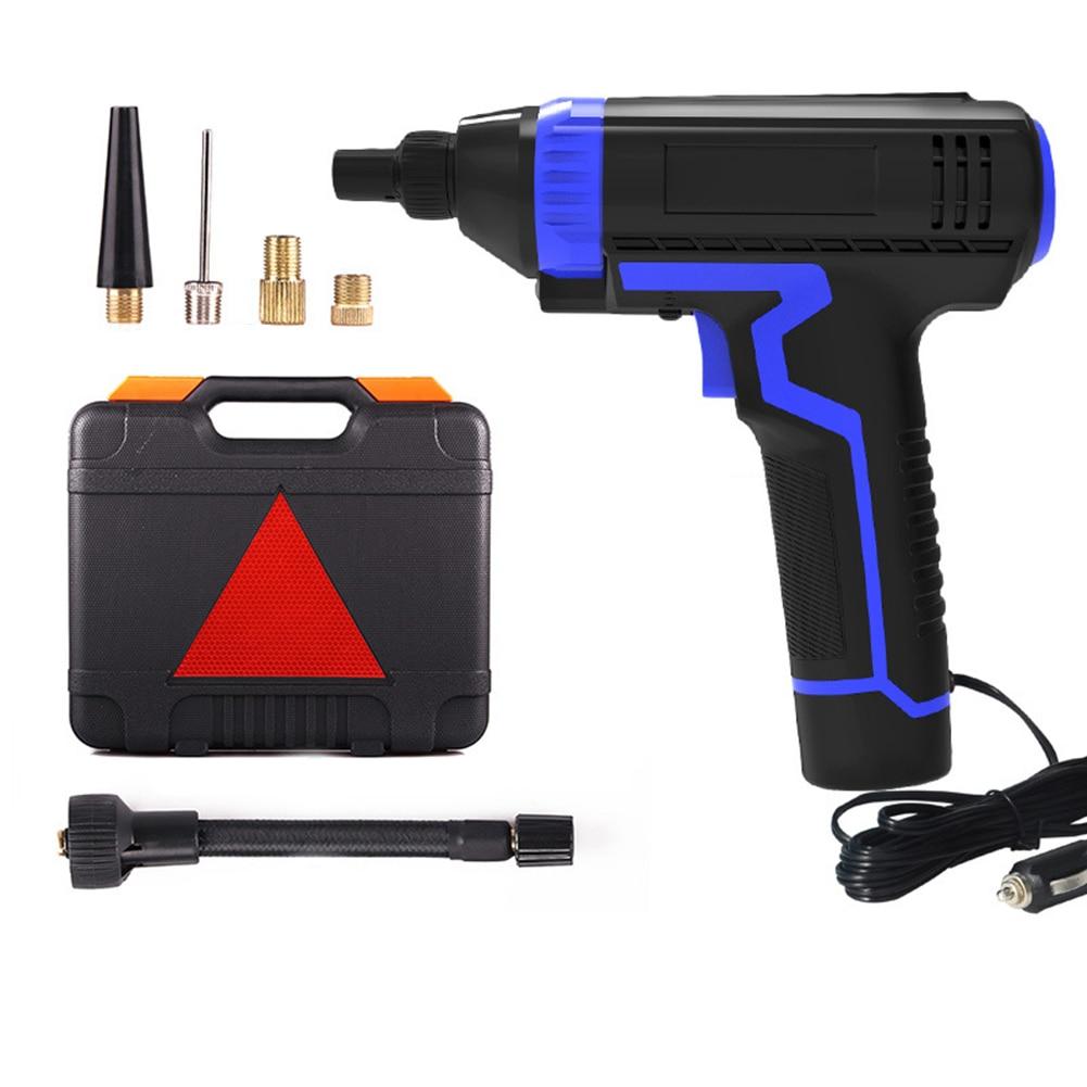 Fotografie Compresor tip pistol Siegbert, afisaj digital, cu fir 3m, 10 bari