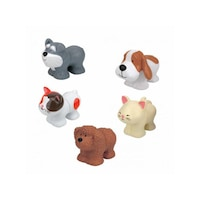 Ks Kids 3108174 Popbo Blocs kutya és cica figurák Többszínű