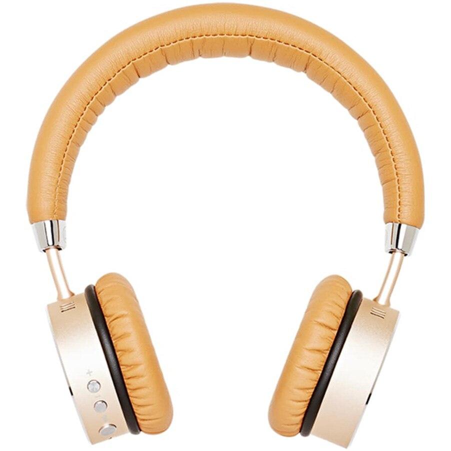 Fotografie Casti Audio On Ear, SACKit WOOFit, Bluetooth, Golden