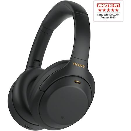 Sony WH1000XM4B.CE7 Fejhallgató, Bluetooth, Zajszűrős, Fekete