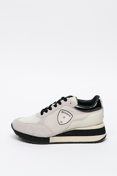 Blauer, Charlotte telitalpú sneaker nyersbőr részletekkel, 39