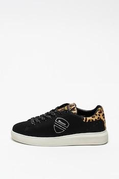 Blauer, Kendall bőr sneaker szőrös bőr részletekkel