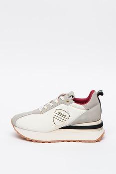 Blauer, Mabel telitalpú bőr és nyersbőr sneaker, 40