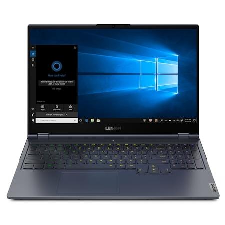 Лаптоп Lenovo Legion 7 15IMHg05 с Intel Core i9-10980HK (2.4/5.3 GHz, 16M), 16 GB, 1TB M.2 NVMe SSD, NVIDIA RTX 2080 SUPER Max-Q 8 GB GDDR6, Windows 10 Home 64-bit, графитеночерен