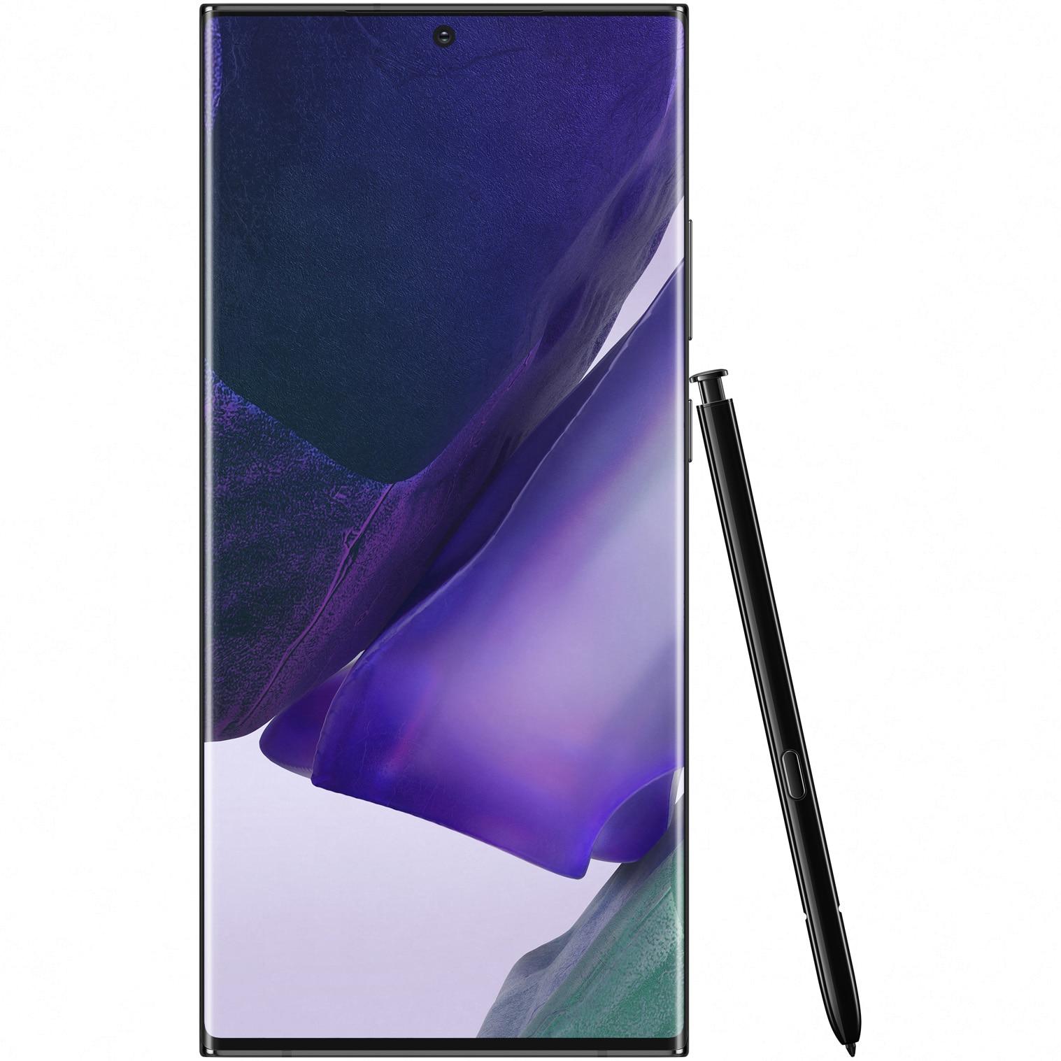 Fotografie Telefon mobil Samsung Galaxy Note 20 Ultra, Dual SIM, 256GB, 12GB RAM, 5G, Mystic Black
