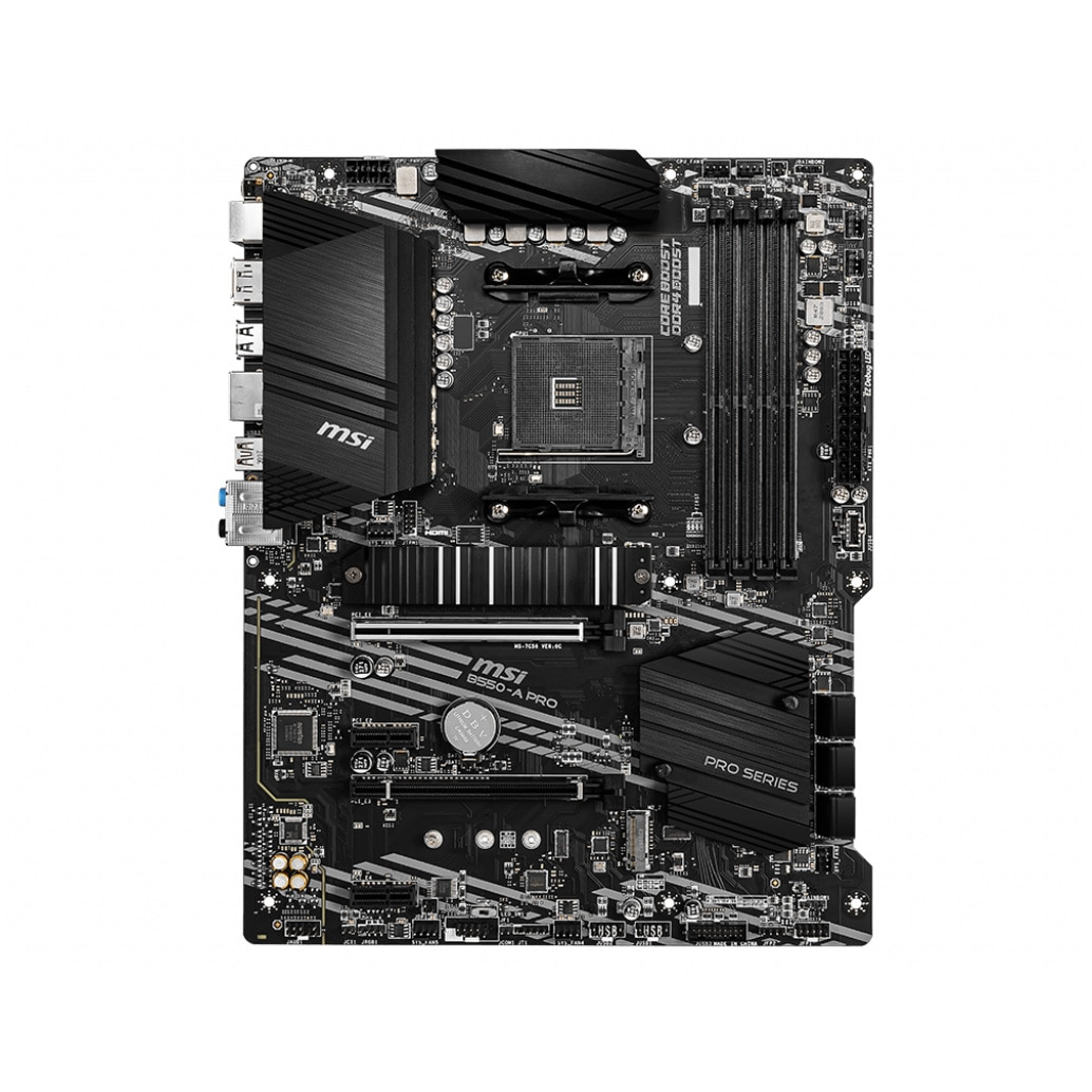 Fotografie Placa de baza MSI B550-A PRO, Socket AM4