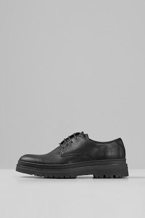 Vagabond Shoemakers, Pantofi derby din piele intoarsa, Maro, 42