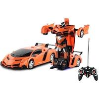 2in1 Transformer átváltozó autó robot, Piros