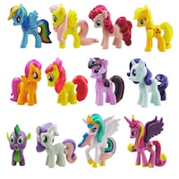 set ponei my little pony