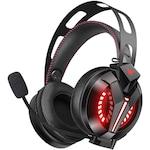 Casti Gaming CombatWing M180 Pro, Surround Sound 7.1, Super Deep Bass, Lumina LED, Pentru PC / XBOX 360/One / PS 3/4/5, Microfon Noise Cancelling, Zero Ear Pressure, Control Volum, Insertie Metal, Protectie ureche din piele, Multi Platform , Negru