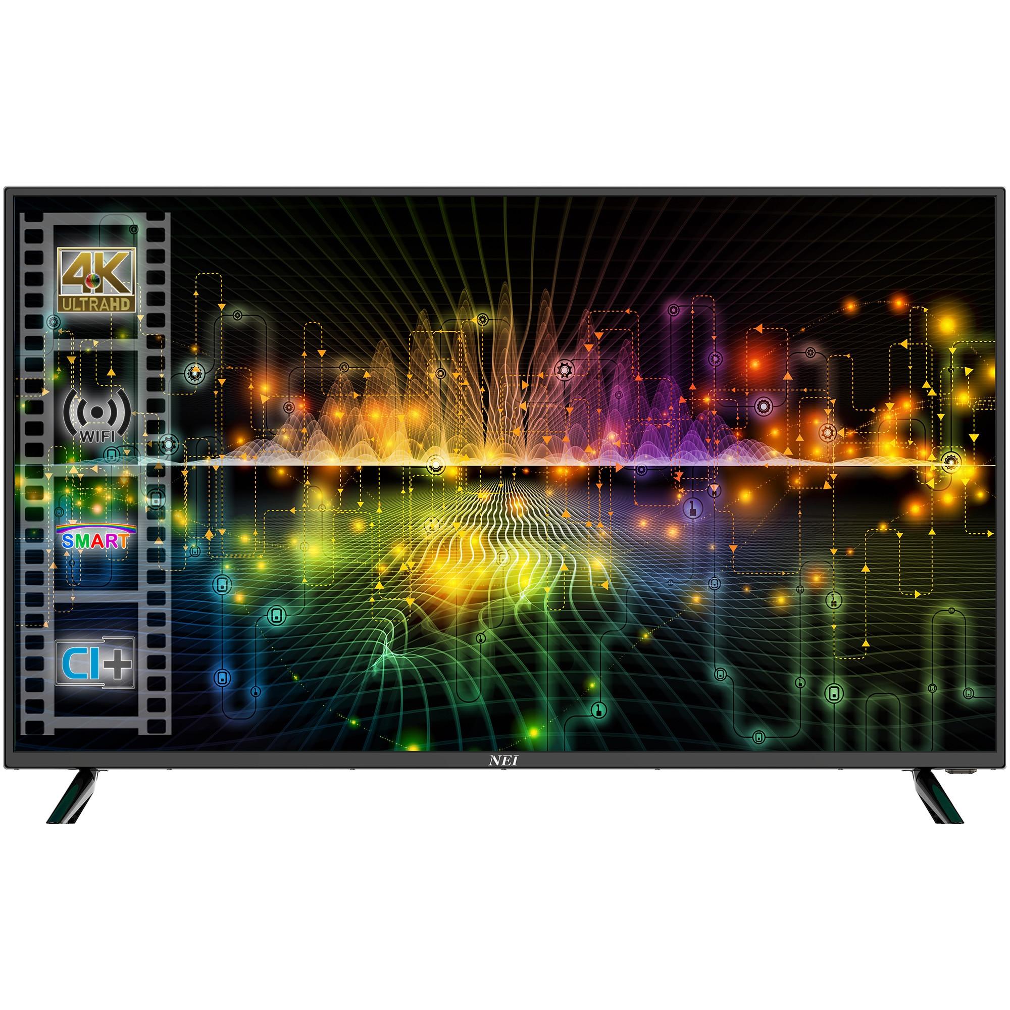 Fotografie Televizor Nei 40NE6700, 100 cm, Smart, 4K Ultra HD, LED, Clasa A
