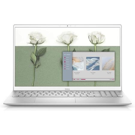 Лаптоп Dell Inspiron 5501 с Intel Core i5-1035G1 (1.0/3.6 GHz, 6M), 8 GB, 1TB M.2 NVMe SSD, NVIDIA MX330 2 GB GDDR5, Ubuntu, сребрист