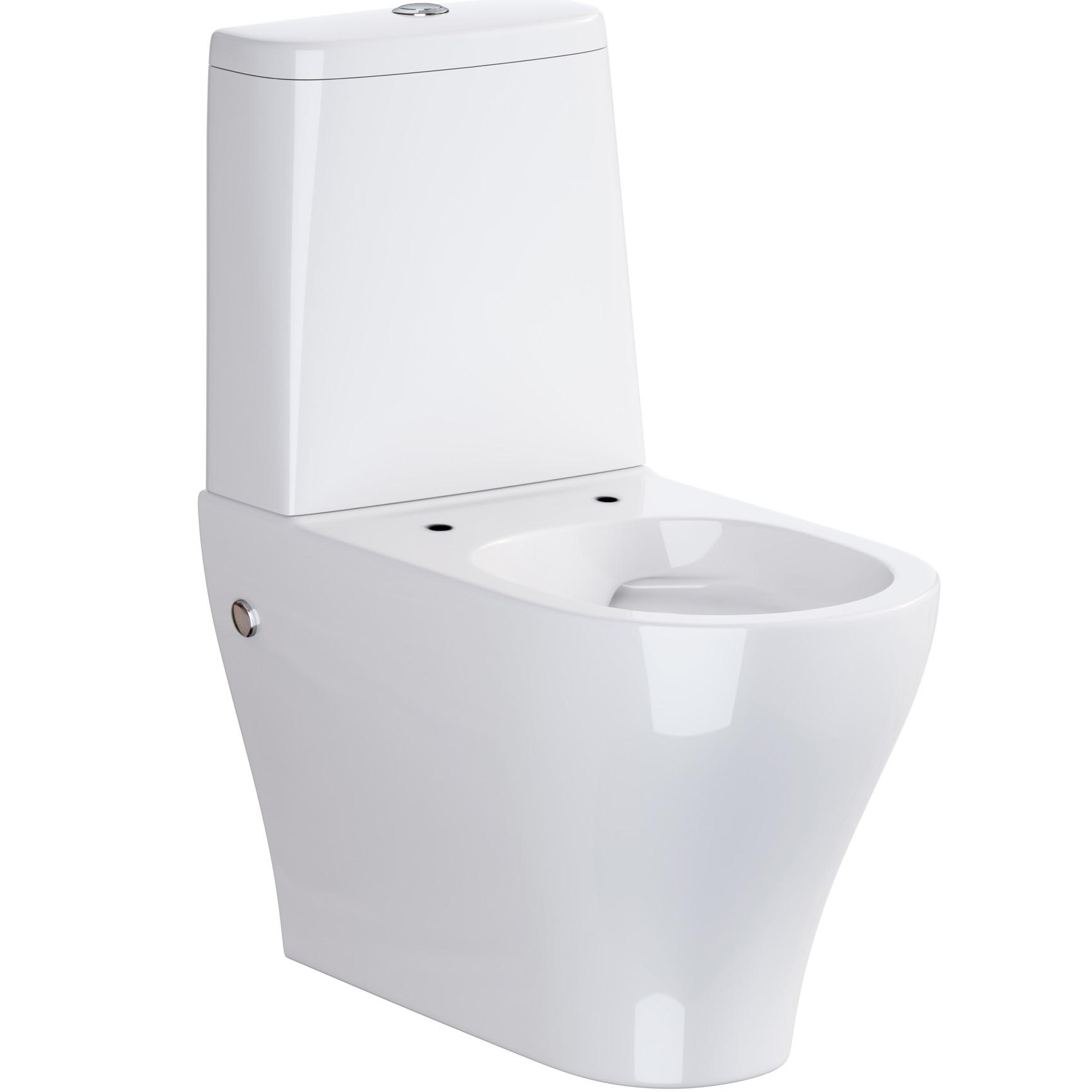 Fotografie Vas WC compact Cersanit Urban Harmony OK580-009-BOX, 010/020, cleanon fara capac
