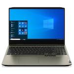 Лаптоп Lenovo IdeaPad Creator 5 15IMH05 с Intel Core i7-10750H (2.6/5GHz, 12M), 16 GB, 1TB SATA 5400rpm, 256GB M.2 NVMe SSD, NVIDIA GTX 1650 Ti - 4 GB GDDR6, Windows 10 Pro 64-bit, зелен