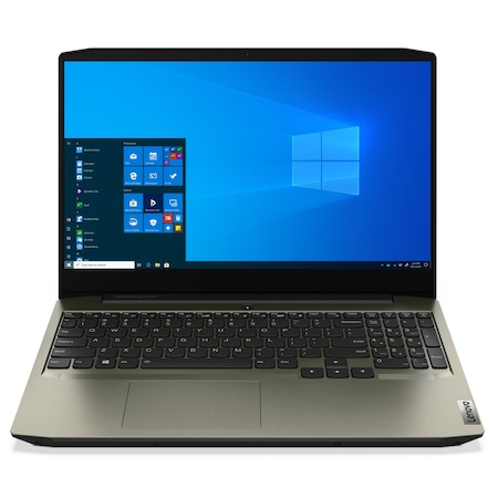 Лаптоп Lenovo IdeaPad Creator 5 15IMH05 с Intel Core i7-10750H (2.6/5GHz, 12M), 8 GB, 1TB SATA 5400rpm, 1TB M.2 NVMe SSD, NVIDIA GTX 1650 Ti - 4 GB GDDR6, Windows 10 Pro 64-bit, зелен