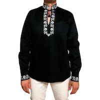 Ie traditionala barbati, neagra -Lucian Marimea XXL
