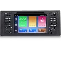 "Мултимедия Hesperus за BMW E39, 7"", Двоен дин с GPS, DVD, Android 10"
