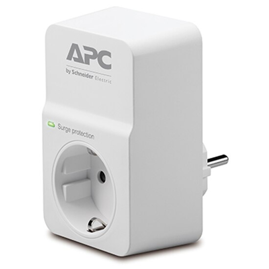 Fotografie Priza cu protectie APC SurgeArrest Essential PM1W-GR, Alb