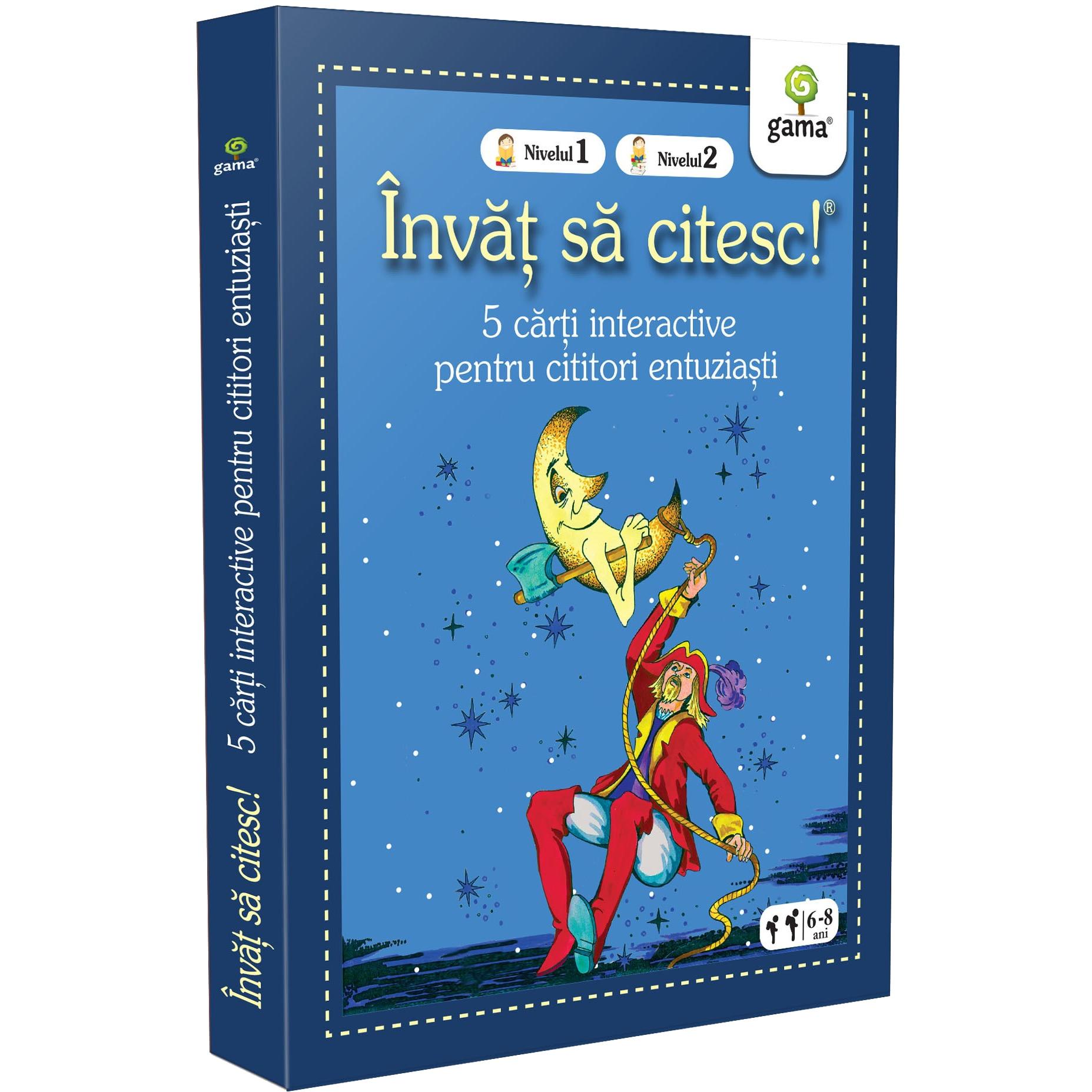 Fotografie Pachet pentru copii, Invat sa citesc pentru cititorii incepatori, 6-8 ani, vol.2, 5 carti