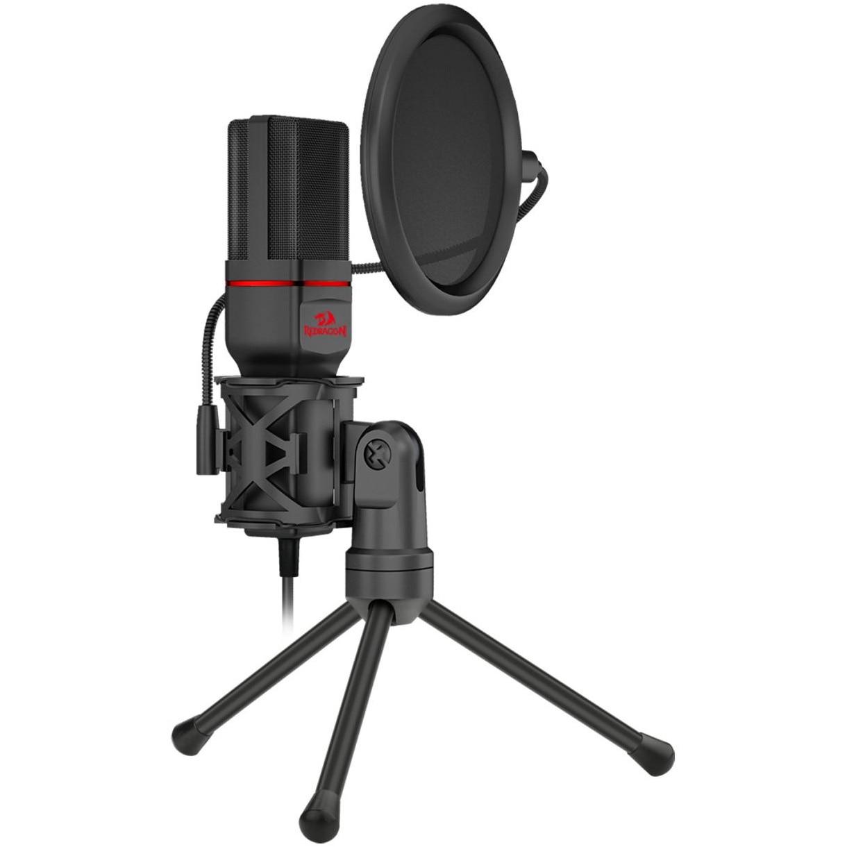Fotografie Microfon streaming Redragon Seyfert, Negru