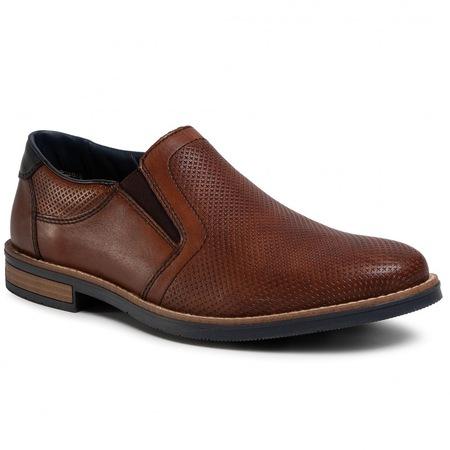 Pantofi Casual din piele naturala pentru Barbati, Rieker, MARO CONIAC, 42 EU
