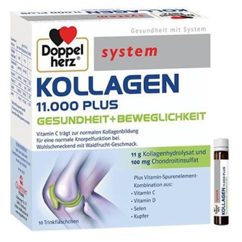 Kollagen 11000 Plus, 10 flacoane x 25ml, Queisser Pharma