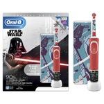 Oral-B D100 Vitality gyerek fogkefe, 7600 rezgés/perc, 2 tisztítási mód, nyomásérzékelő, útitok, Star Wars