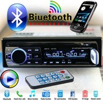 Авто MP3 Bluetooth плеър Podofo, Модел JSD-520BT, 4 х 60W, BT, APE, WAV, WMA, FM, MP3, Micro SD карта, USB, Черно