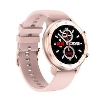 Смарт часовник Smart Wear GT89, IP68 Водоустойчивост, Пулс, Калории, Bluetooth, Ултратънък, Пепел от рози