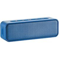 Boxa portabila AmazonBasics, 9W, stereo, impermeabil, Bluetooth, indicator LED, albastru