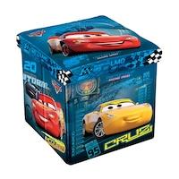 Табуретка Disney Cars, 3в1, MDF и текстил, до 150 kg