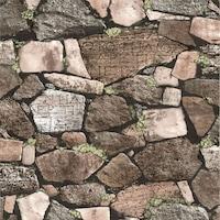 Tapéta DEGRETS 209-03 Mosható, Nedvességálló, Köves 3D barna, Méret: 0.53m x 10.05m = 5.3 m2