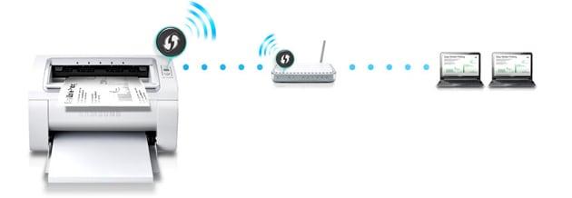 Imprimanta laser monocrom Samsung ML-2165W, A4, Wireless