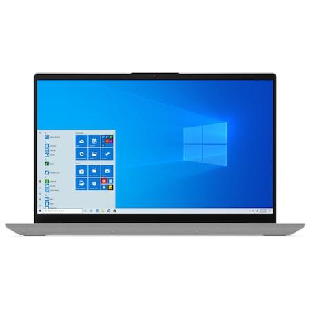 Лаптоп Lenovo IdeaPad 5 15IIL05 с Intel Core i5-1035G1 (1.0/3.6 GHz, 6M), 8 GB, 512GB M.2 NVMe SSD, NVIDIA MX330 2 GB GDDR5, Windows 10 Pro 64-bit, сив