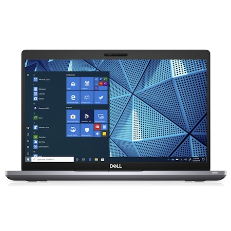 Лаптоп Dell Latitude 5410 с Intel Core i5-10210U (1.60/4.20 GHz, 6M), 16 GB, 2 TB M.2 NVMe SSD, Intel UHD Graphics 620, Ubuntu, сив