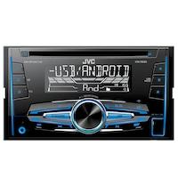Radio CD auto JVC KW-R520 , 4x50W, USB, AUX, subwoofer control, 2DIN, iluminare alb