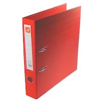 Biblioraft dublu plastifiat (exterior si interior), 5.5 cm, 290x318 mm, rosu