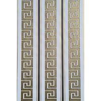 Tapéta DEGRETS 050-01 Papír, Versace fehér-arany, Méret: 0.53m x 10.05m = 5.3 m2