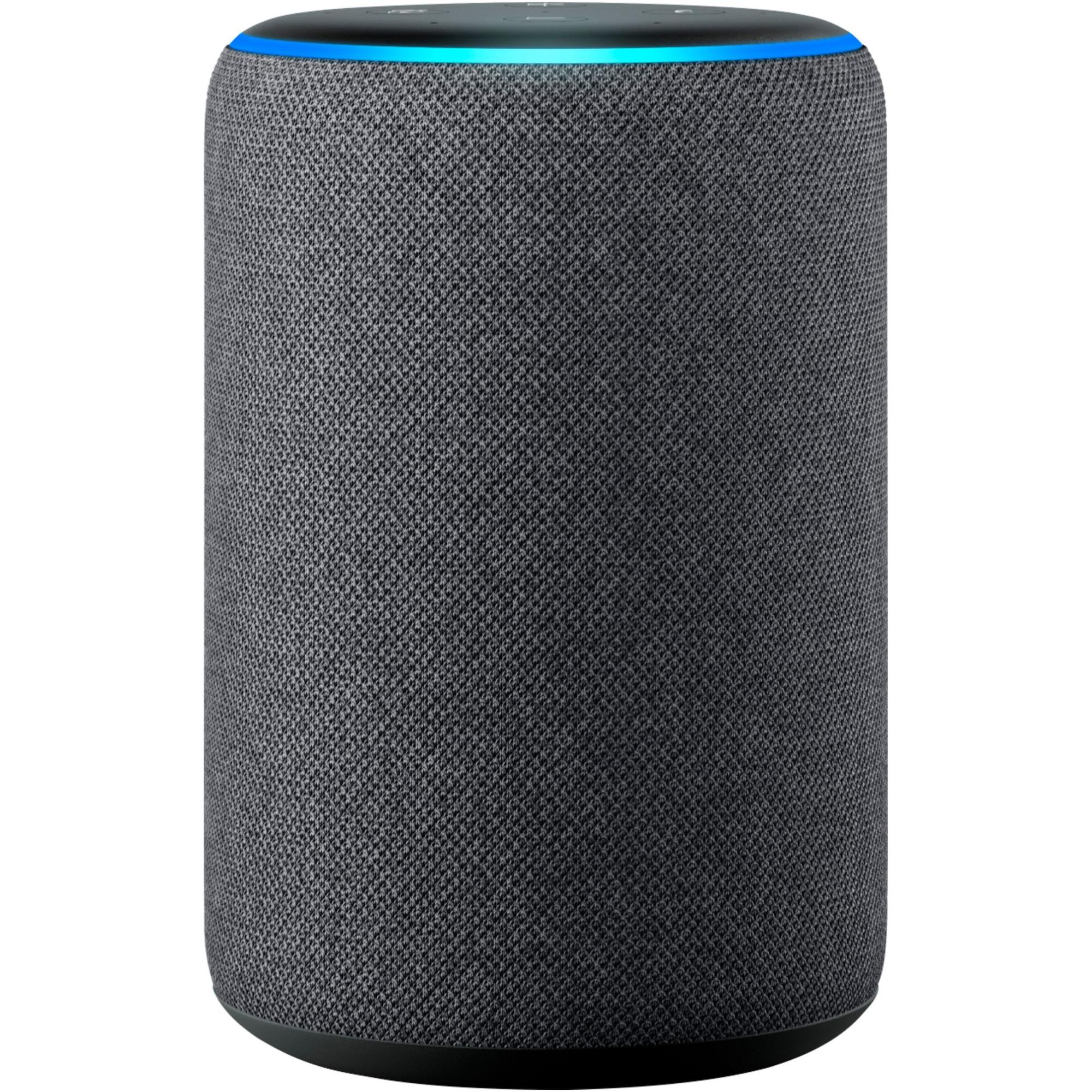 Fotografie Boxa inteligenta Amazon Echo Plus (2nd Gen), Wi-Fi, Neagra