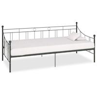 vidaXL szürke fém kanapéágy-keret 208 x 95 x 83 cm