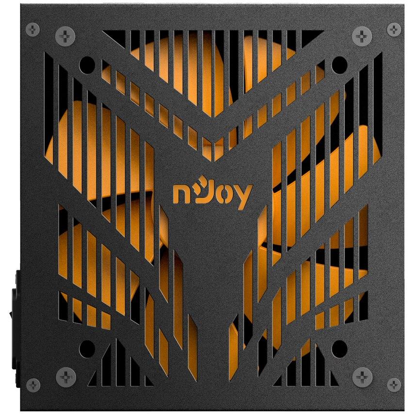 Fotografie Sursa full modulara nJoy Magna 750, 80 PLUS® Bronze, 750W, PFC Activ
