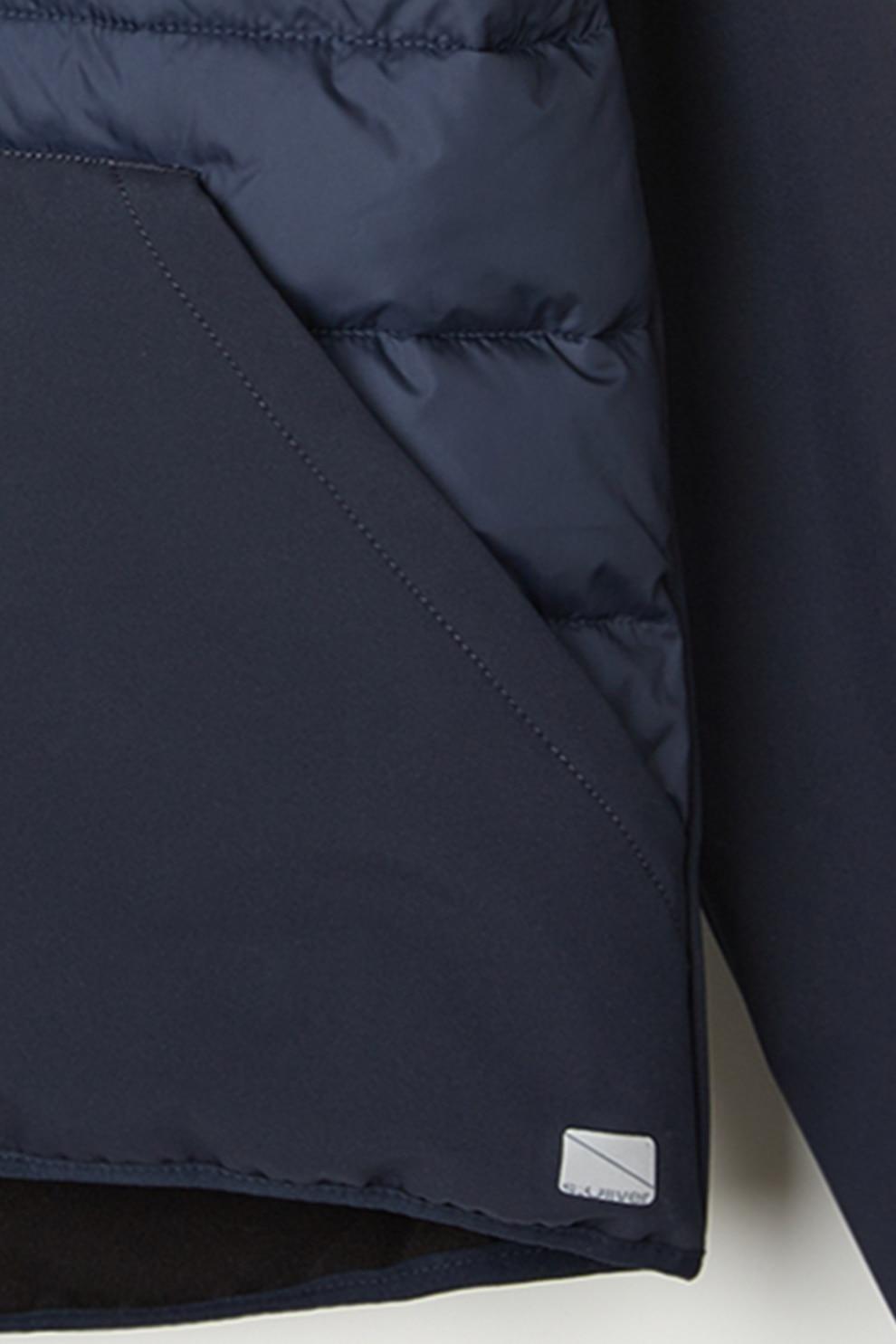 s.Oliver,, Steppelt elejű dzseki kapucnival, Sötétkék, 146