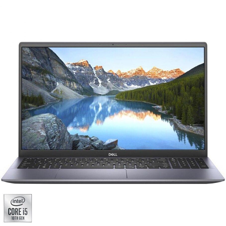 "Fotografie Laptop Dell Inspiron 5501 cu procesor Intel Core i5-1035G1 pana la 3.60 GHz, 15.6"", Full HD, 8GB, 512GB SSD, NVIDIA GeForce MX330 2GB, Ubuntu, Silver"