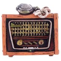 Декоративна фигура, Магнит/Ретро радио, Многоцветен