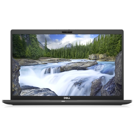 Лаптоп Dell Latitude 7410 с Intel Core i7-10610U (1.8/4.9GHz, 8 M), 16 GB, 512GB M.2 NVMe SSD, Intel UHD Graphics, Windows 10 Pro 64-bit, черен