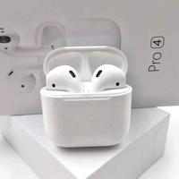 AlianX® Vezeték nélküli Bluetooth fülhallgató, Pro 4 mini, 360 sztereó hang, Bluetooth 5.0 + EDR II, Touch Control, Fehér