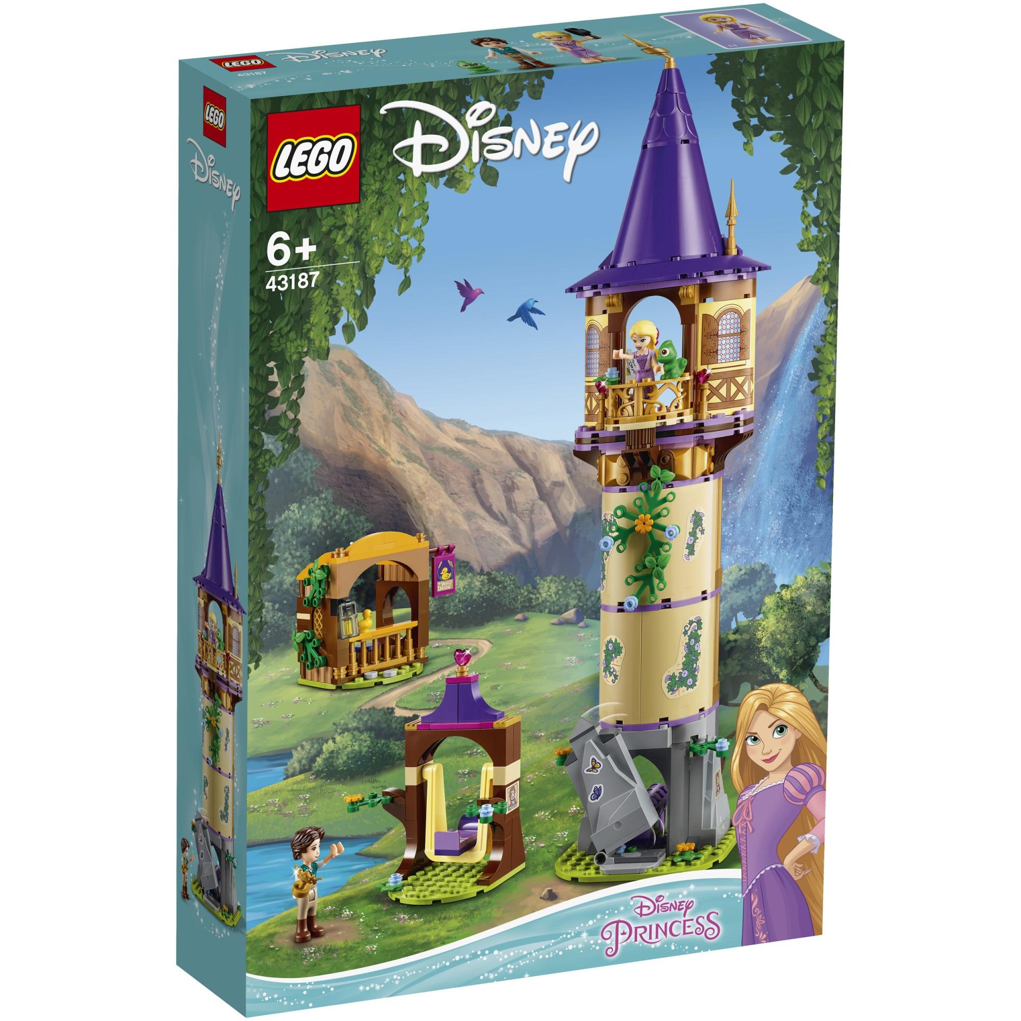 Fotografie LEGO Disney Princess - Turnul lui Rapunzel 43187