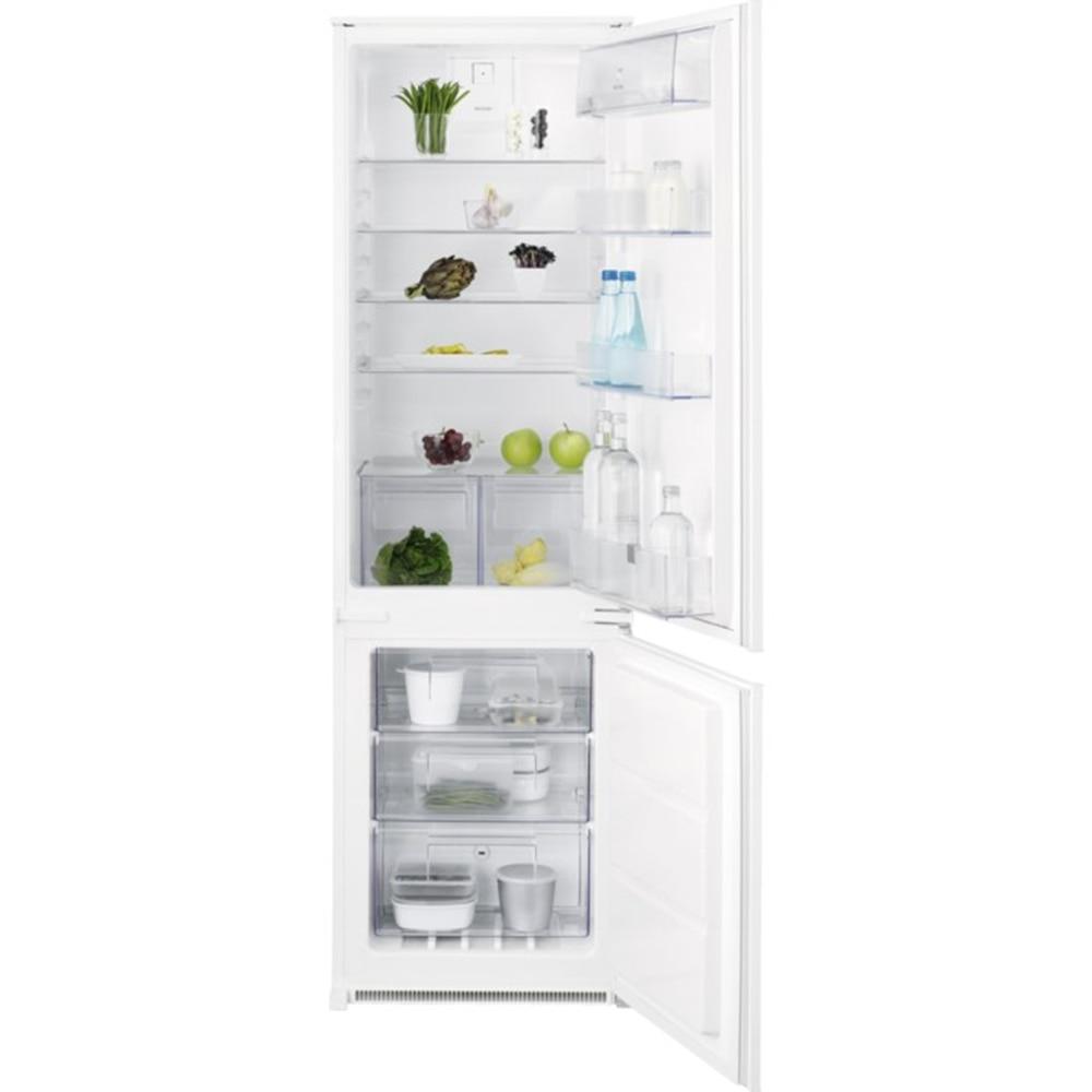 Fotografie Combina frigorifica incorporabila Electrolux ENN2812AOW, 277 litri, Clasa A ++, H 178