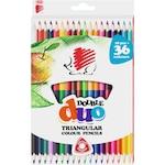 ICO Süni háromszög alakú kétvégű 18/36 színű színes ceruza