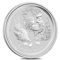 Сребърна монета Година на Петела, 1 Oz